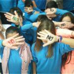 """Los alumnos del Colegio de La Presentación dicen """"NO a la Violencia de Género"""""""