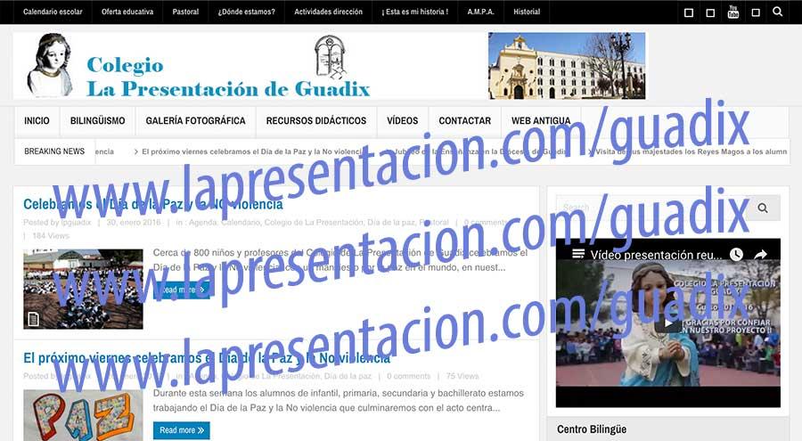 Cambio de web www.lapresentacion.com/guadix