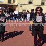 Más de 700 alumnos dicen ¡ Sí a la paz y no a la violencia !