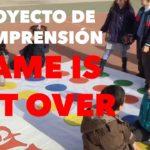 """Más de 600 alumnos participan del Proyecto de comprensión """"Game is not over"""" –"""