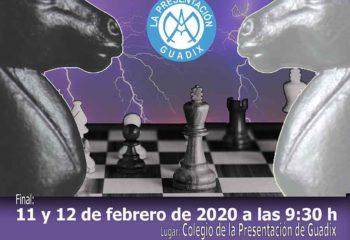 V Torneo ajedrez escolar Ciudad de Guadix
