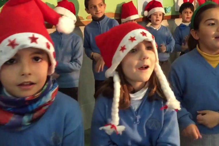 Presentaciones Feliz Navidad.Villancico Feliz Navidad De Los Alumnos De 1º De Primaria